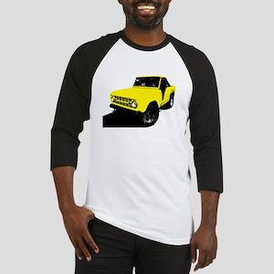 Yellow Bronco Baseball Jersey