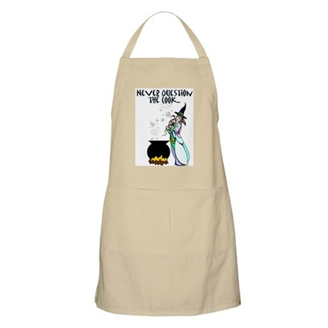Never Question the Cook-Witch Apron