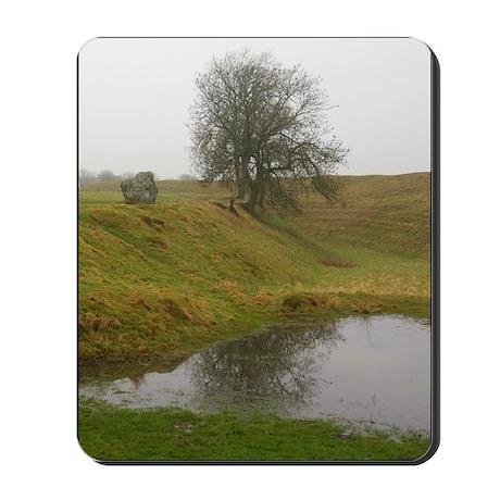 Avebury tree Mousepad