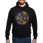 Peace Symbols Hoodie (dark)