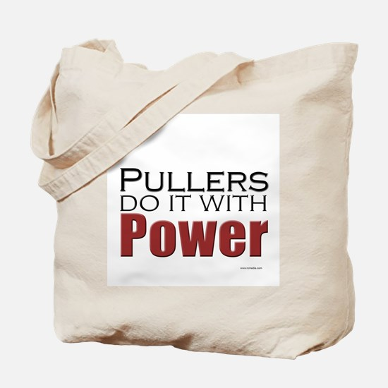 Tractor Pullers Tote Bag
