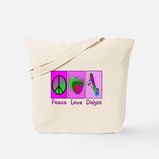 Unique Dialysis patient Tote Bag