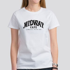 Midway Cafe, Women's White T-Shirt