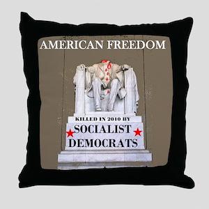 YOU WERE A REPUBLICAN !!! ~ Throw Pillow