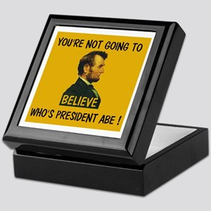 YOU WERE A REPUBLICAN !!! ~ Keepsake Box