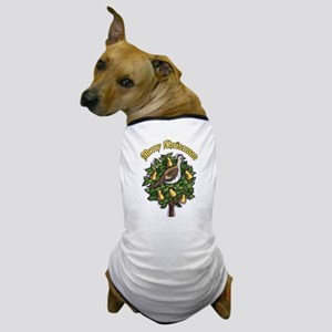 Partridge in A Pear Tree Dog T-Shirt