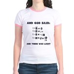 And God Said Maxwell's Equati Jr. Ringer T-Shirt