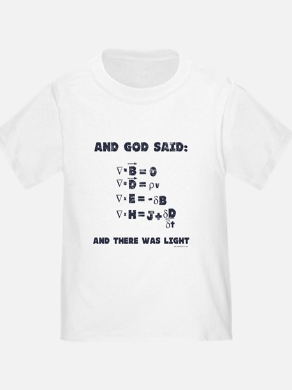 And God Said Maxwell's Equati T