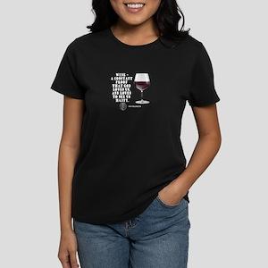 Wine - Proof God Loves Us Women's Dark T-Shirt