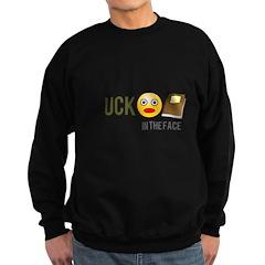 Facebook In the Face Sweatshirt (dark)