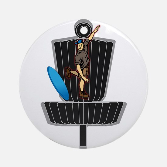 Ace Tomahawk2 Ornament (Round)