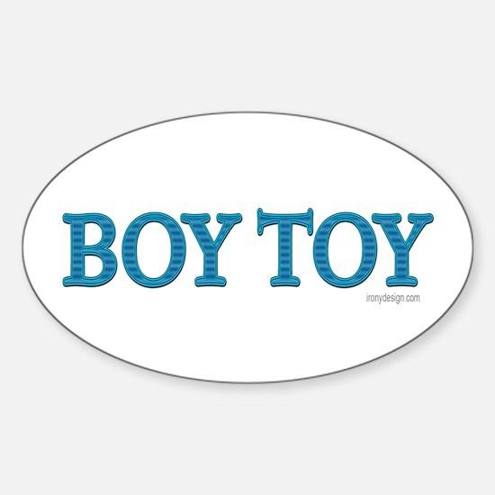 Boy Toy Oval Decal