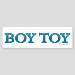 Boy Toy Bumper Sticker