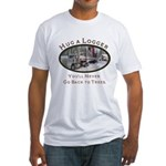 Hug a Logger - Kenworth Fitted T-Shirt