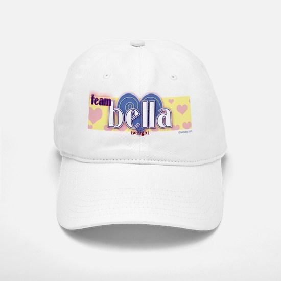 Team Bella Blue Heart Baseball Baseball Cap