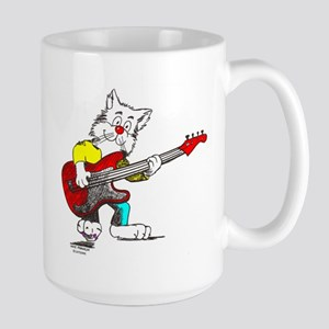 Bass Guitar Mugs Large Mug