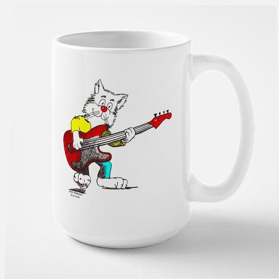 Bass Guitar Mugs Large Mug