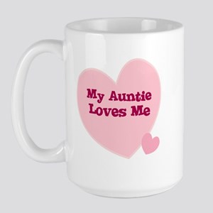 My Auntie Loves Me Large Mug