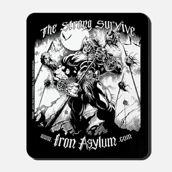Iron Asylum - Impaler Mousepad