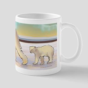 Mother Polar Bear & Cub Mug