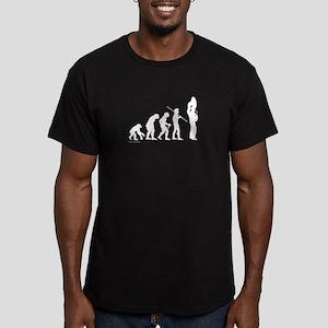 Sousaphone Evolution Men's Fitted T-Shirt (dark)