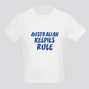 AUSTRALIAN KELPIES RULE Kids T-Shirt