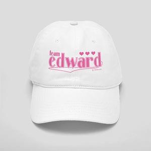 Team Edward Pink Hearts Hat Cap