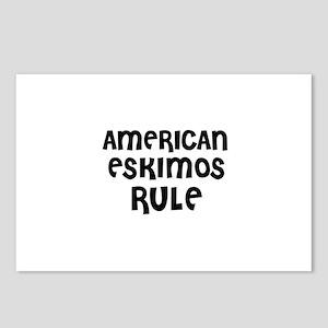 AMERICAN ESKIMOS RULE Postcards (Package of 8)