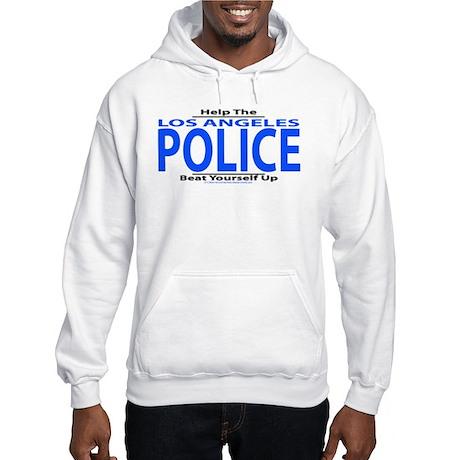 Help Los Angeles Police Hooded Sweatshirt