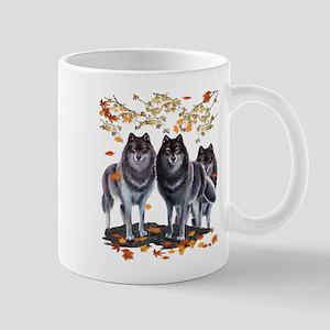 Wolves In Fall Mug