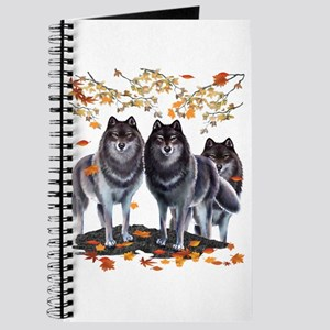 Wolves In Fall Journal