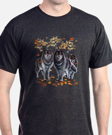 Wolves In Fall T-Shirt