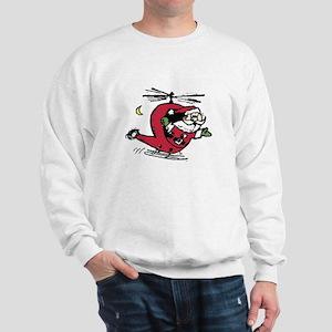Santa Copter Sweatshirt