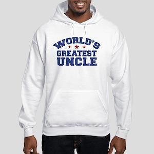 World's Greatest Uncle Hooded Sweatshirt