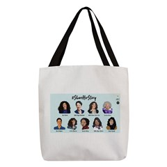 #shareherstory 2018 Polyester Tote Bag