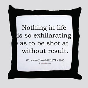 Winston Churchill 28 Throw Pillow