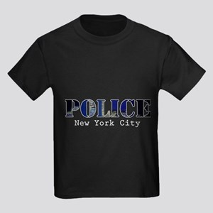 Police Kids Dark T-Shirt