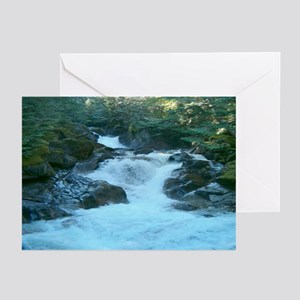 Waterfalls Thank You Greeting Cards (Pk of 10)