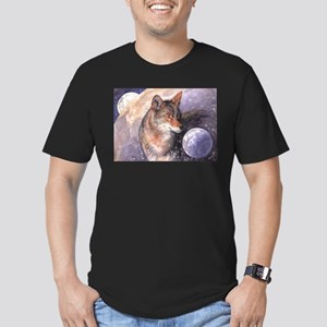 Coyote Moon Men's Fitted T-Shirt (dark)
