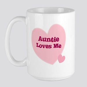 Auntie Loves Me Large Mug