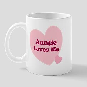 Auntie Loves Me Mug