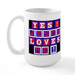 Jesus Loves Me!  Large Mug