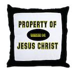 Property Design (Yellow) Throw Pillow