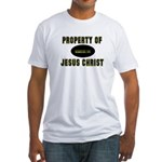 Property Design (Yellow) Fitted T-Shirt