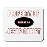 Property Design (Red) Mousepad