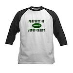Property Design (Green) Kids Baseball Jersey