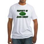 Property Design (Green) Fitted T-Shirt