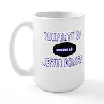 Property Design (Blue) Large Mug