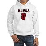 Bless U (dark red) Hooded Sweatshirt
