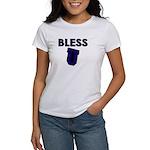 Bless U (dark Blue) Women's T-Shirt